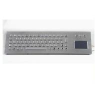 rugged metallic keyboard with touchpad