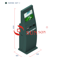 Indoor Cash Credit Card Payment Kiosk Termianl