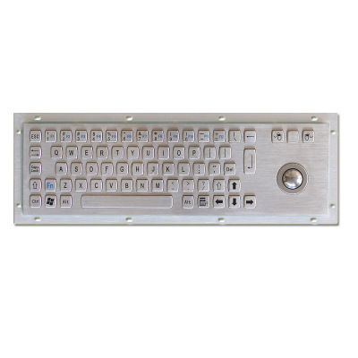 kiosk keyboard integrated trackball