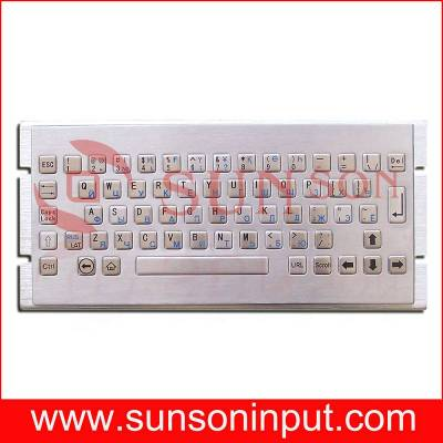 industrial metal keyboard