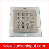 kiosk keypad