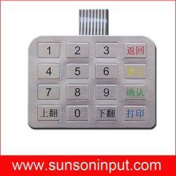 Kiosk pin pad