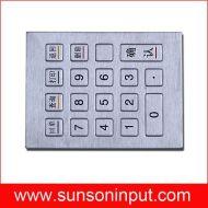 kiosk key pad