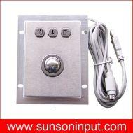 panel mount optical trackball