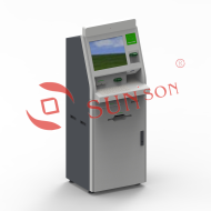 Hotel Self Payment Check In Check Out Multifunction Kiosk RFID Card Dispenser