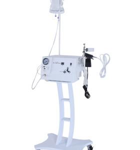 تبييض البشرة / مكافحة الشيخوخة التجاعيد / الأكسجين آلة تدليك الوجه مع الأكسجين بالموجات فوق الصوتية الترددات اللاسلكية