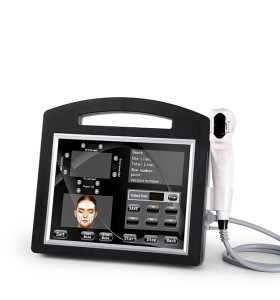 4D HIFU المضادة للتجاعيد شد الوجه شد الجسم التخسيس HIFU 3D 4D HIFU آلة الجمال