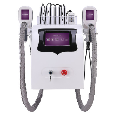 Portable double-head frozen multi-function cryolipolysis lipo laser weight-loss machine