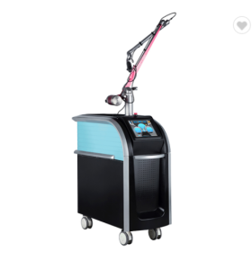 Professional Pisecond Laser Tattoo And Pigmentation Removal Machine