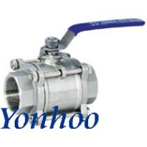 Three-piece valve