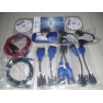 NEXIQ Bluetooth Version VXTRUCKS V8 USB Link Wireless Diagnose Interface With All Adapters (Blue)