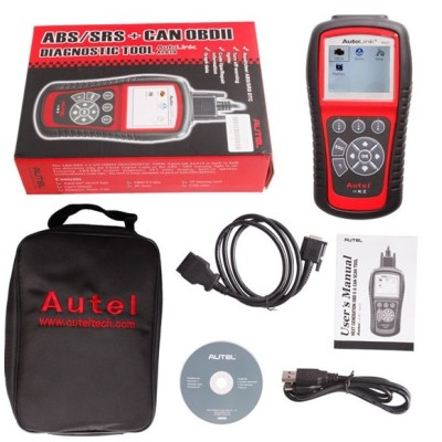 Autel AutoLink AL619 OBDII CAN ABS and SRS Scan Tool Update Online