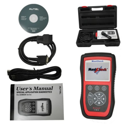 Autel MaxiCheck-EPB Brake Pads Replacement and Recalibration