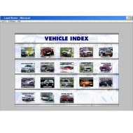 NEW & Latest Land Rover Microcat Electronic Parts Selling System 2013.07