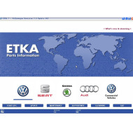 Audi VW Seat Skoda ETKA Electronic Catalogue