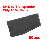50pcs ID4D 60 Transponder Chip 80Bit Blank