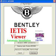 Bentley IETIS Bentley Car Repair Information Accessories Catalog System