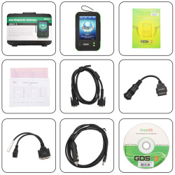 OEMScan GreenDS GDS+ 3 Professional Diagnostic Tool Online Update
