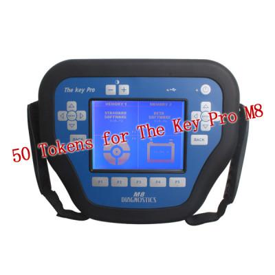 50 Tokens for The Key Pro M8 Auto Key Programmer M8 Diagnosis Locksmith Tool