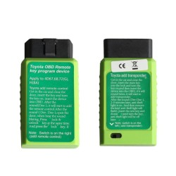 Toyota G and Toyota H Chip Vehicle OBD Remote Key Programming Device