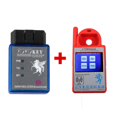 Mini CN900 Transponder Key Programmer Plus TOYO Key OBD II Key Pro for 4C 46 4D 48 G H Chips