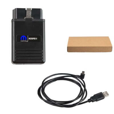 Multi-language wiTech MicroPod 2 Diagnostic Programming Tool V17.02.3 for Chrysler
