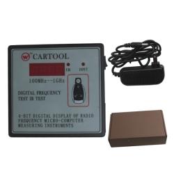 CARTOOL Digital Frequency Tester IR Tester Remote Key Frequency Tester (Frequency Range 100-1000MHZ)
