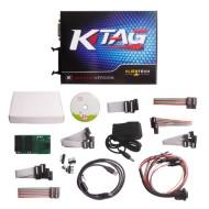 V2.23 KTAG EU Online Version Firmware V7.020 K-TAG Master with Red PCB No Tokens Limitation