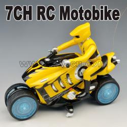 7CH RC Spinning Drifting motobike