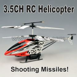 3.5CH Missile Shooting  RC Helicopter