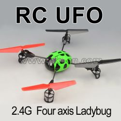 Four channel 2.4G UFO RC Helicopter