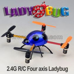 Mini 2.4G beetle flyer, four channel quadcopter