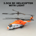 Rescue style real life rc helicopter with two puppets