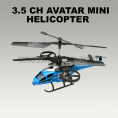 3.5 channel mini rc helicopter styling of Avatar scorpion