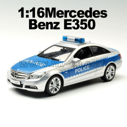 1:16 mercedes Benz E-class coupe squad car toy