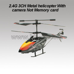 2.4G 3CH rc helicopter With camera Not Memory card