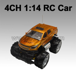 4 channel 1:14 2 WD SUV rc car