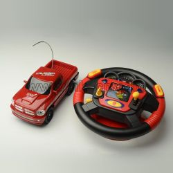 RC Car with Multifunction Steering Wheel