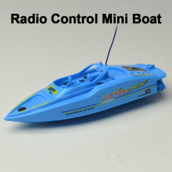 Radio control mini boat
