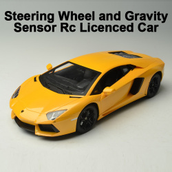 1:14 Licensed RC Lamborghini with Steering wheel controller