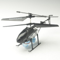 3.5-channel Self Assembly Helicopter, can Video and Blow Bubbles