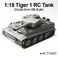 1-18 Scale RC tiger1 Tank, Shoots 6mm BB Bullet