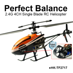 2.4G 4CH Perfect Balance Single Blade Helicopter