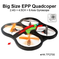 Big size 2.4G 4CH 4-Axis RC Quadcopter