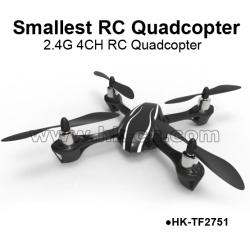 World Smallest 2.4G 4CH quadcopter