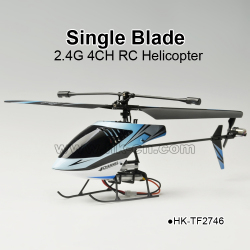 TOYABI Hot Sale Single blade 2.4G 4CH RC helicopter Toys