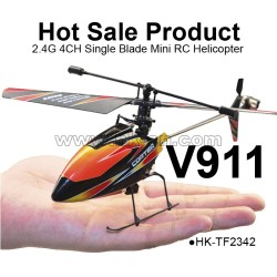 4 channel single blade rc helicopter, 2.4 ghz helicopter