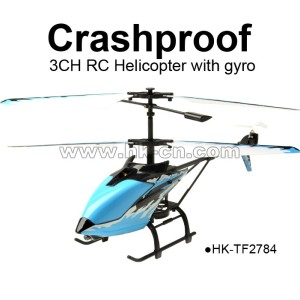 3CH Crashproof RC Helicopter with gyro,TOYABI