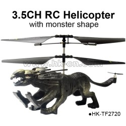Avatar 3.5CH RC helicopter with monster shape