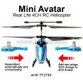 4CH change 3CH AVATAR RC Helicopter